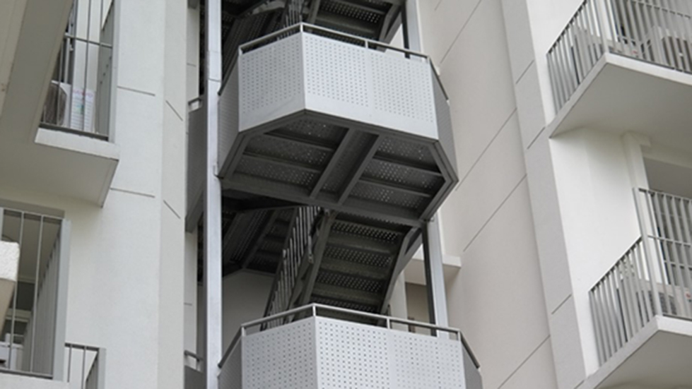 Steel Staircase 1